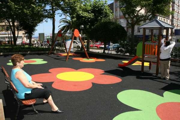 Nueva plaza del Parque, A Coruña.