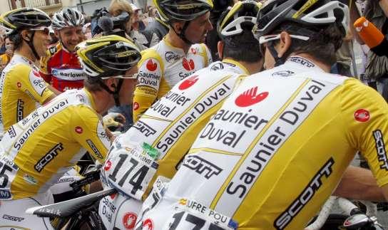 Ciclistas del Saunier Duval - Scott