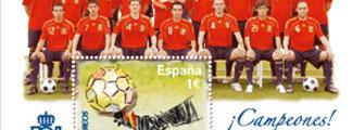 Un sello de Correos conmemorará la victoria de la selección en la Eurocopa