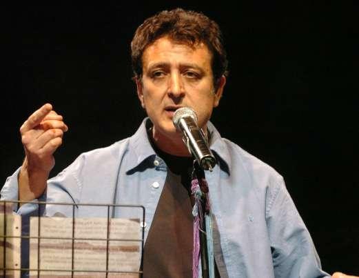 Manolo García, en una actuación.
