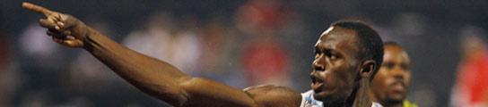 El atleta Usain Bolt