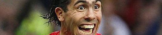 El futbolista Carlos Tévez