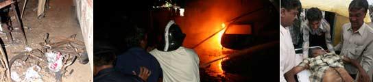 Al menos 29 muertos en 16 atentados simultáneos registrados en la India