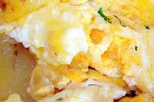 Revuelto de patatas y guisantes