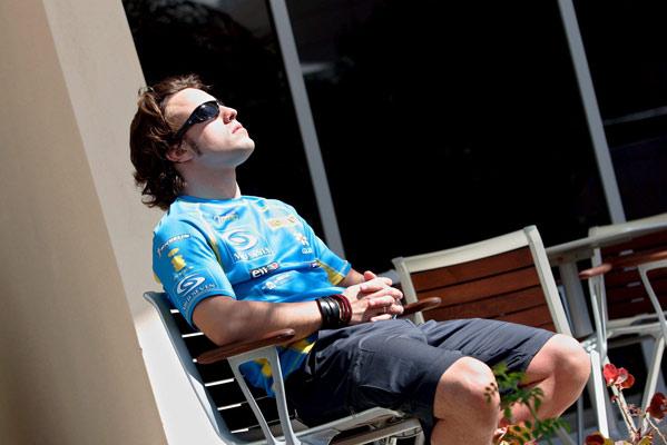 El piloto Fernando Alonso