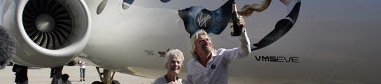 Virgin Galactic descubre una gigantesca 'madre nodriza' para el turismo espacial