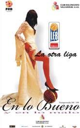 Una foto del cartel de abonos del CB Valladolid.
