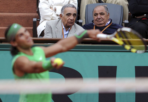 Pedro Muñoz, presidente de la Federación española de tenis
