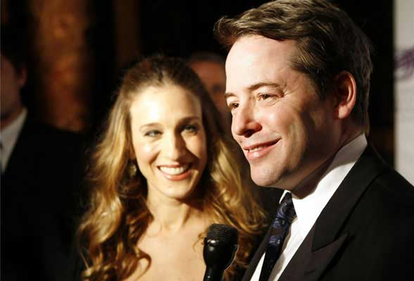 Sarah Jessica Parker y Matthew Broderick