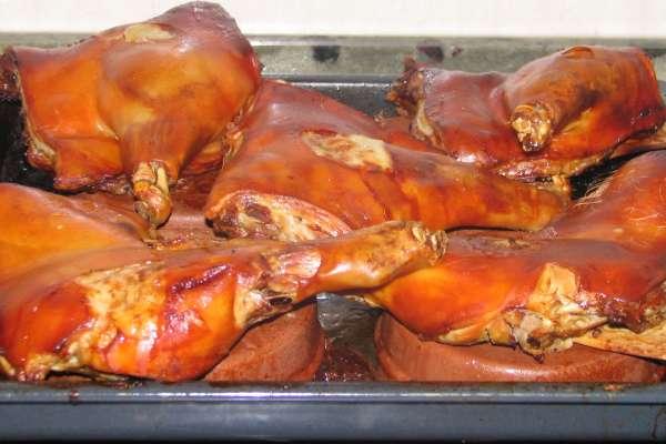 la receta del día: cochinillo asado