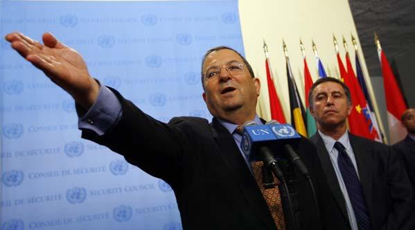 El primer ministro israelí, Ehud Barak