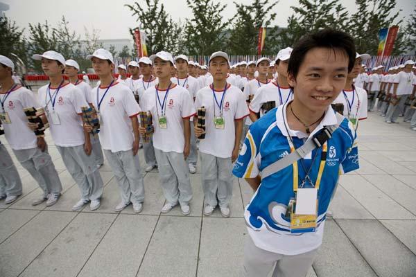 Voluntarios de los JJ.OO. Pekín 2008