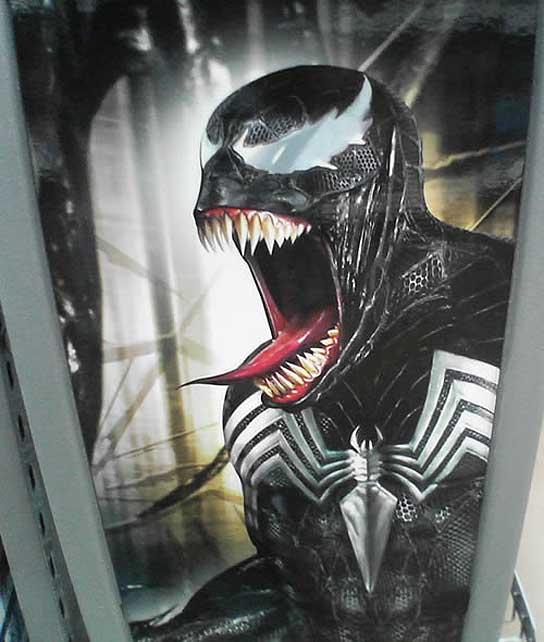 Venom, uno de los villanos de 'Spiderman 3'.
