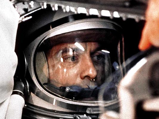 NASA, 50 a�os en fotos, Alan Shepard