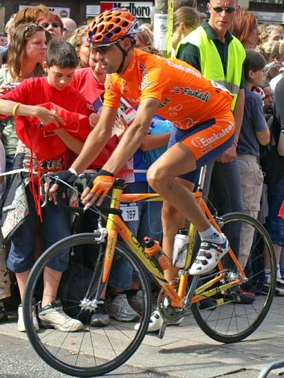 El ciclista Aketza Peña