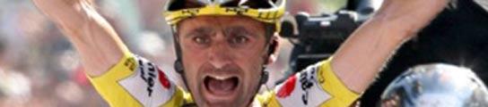 El ciclista Leonardo Piepoli