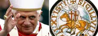 El Papa y el sello de los Templarios