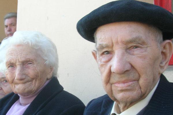 Dos ancianos gallegos