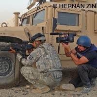 Hernán Zin en Afganistán