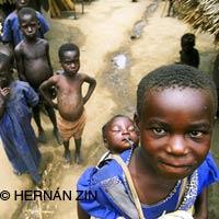 Hernán Zin en Uganda
