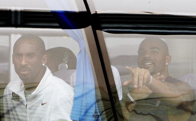 Kobe Bryant  y Carlos Boozer