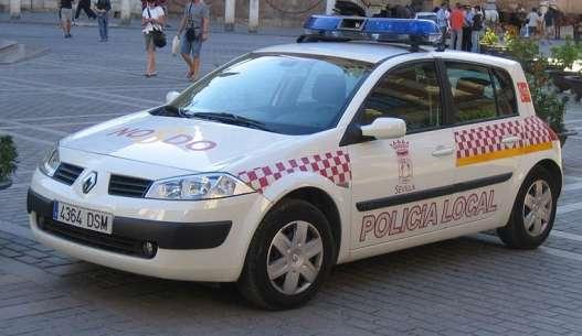 Vehiculo de la Policía Local de Sevilla