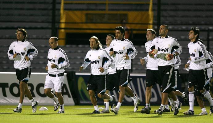 Real Madrid en Bogotá
