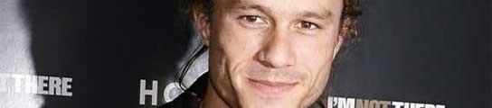 Foto del fallecido actor australiano Heath Ledger.