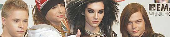 Imagen de los miembros de Tokio Hotel.