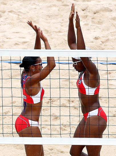 Voley de Playa Femenino Olimpico Imagenes