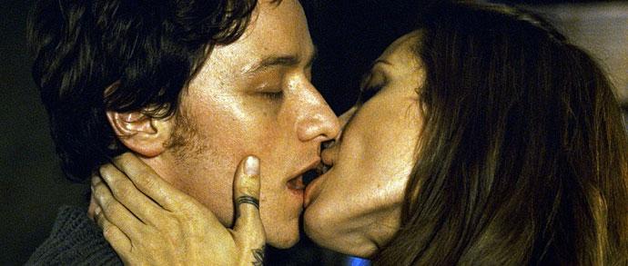 McAvoy y Jolie