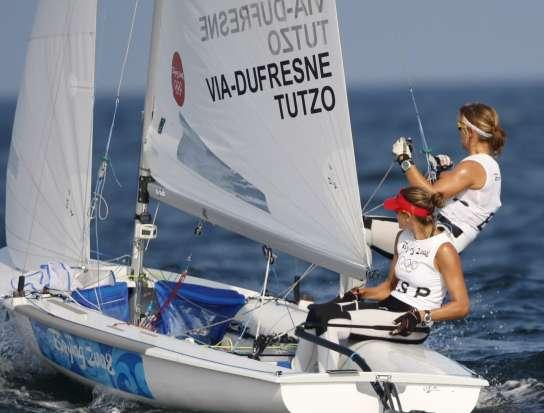 Natalia Vía-Dufresne y Laia Tutzo