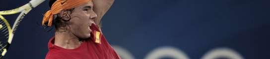 Rafa Nadal, ante Lleyton Hewitt