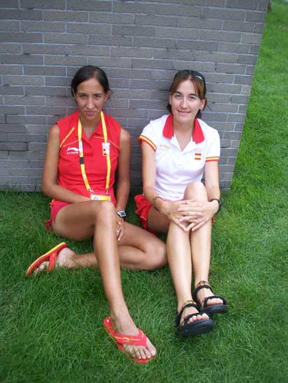 """... Isabel Checa, las hermanas """"más golosas"""" del atletismo español"""