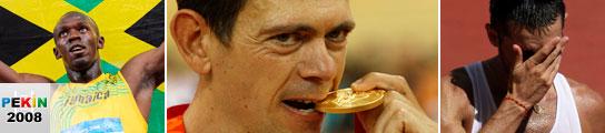 Llaneras logra el oro, Paquillo fracasa y paliza en baloncesto el día del récord de Bolt