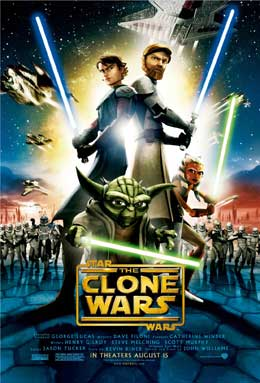 Póster de 'Star Wars: The Clone Wars'.
