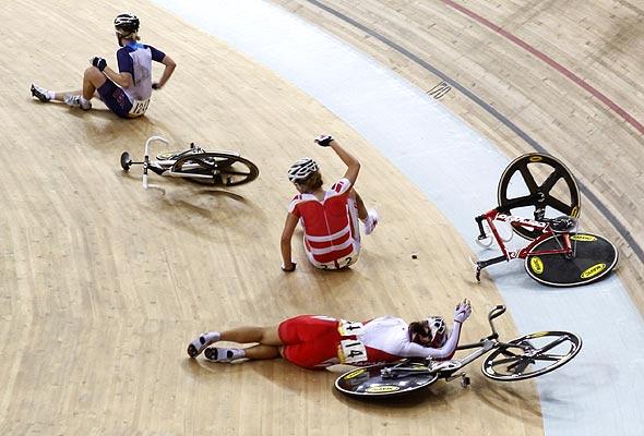Foto Accidente En Ciclismo 18 8 2008 Las Mejores Fotos De Los