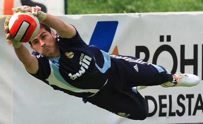El portero del Madrid, Iker Casillas