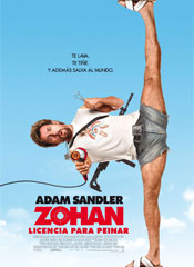 Zohan: Licencia para peinar - Cartel