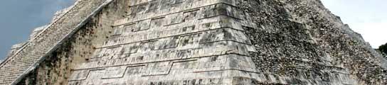 Pirámide maya.