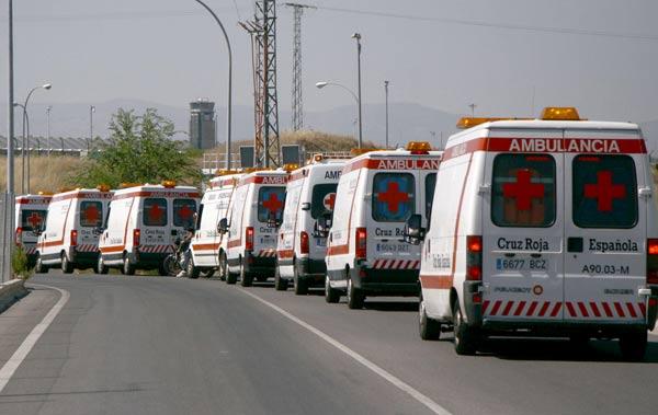 Ambulancias en Barajas
