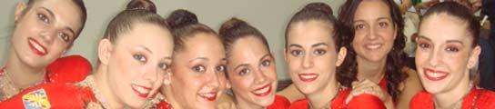 Equipo de gimnasia rítmica de España