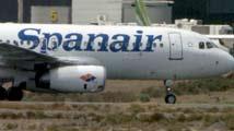 Un avión de Spanair aterriza de urgencia en Málaga tras detectarse una avería