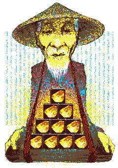 Chino farmer.