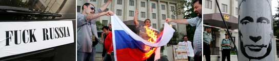 Protestas Georgia