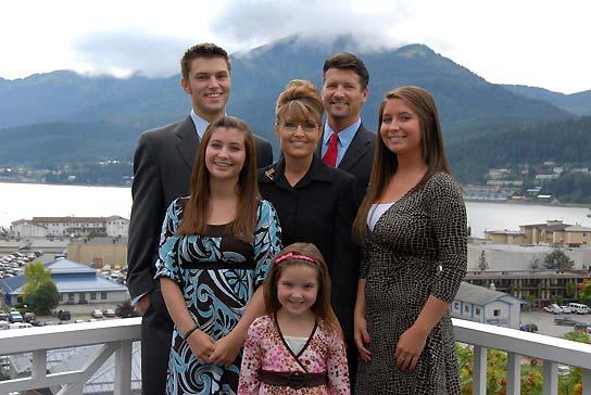 Sarah Palin y su familia