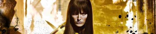 La actriz Carla Gugino, en una imagen de 'Watchmen'.
