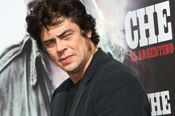 El actor Benicio del Toro, en la presentación de 'Che, el argentino'.