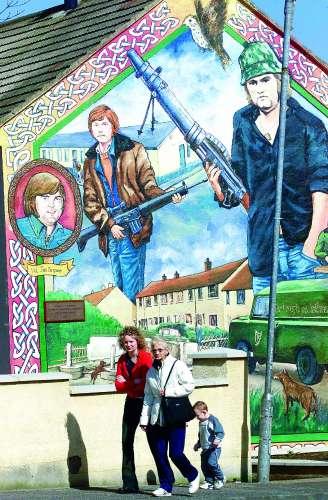 Murales del IRA en Belfast