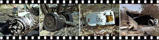 Fotogalería de los restos del avión de Spanair 544